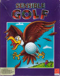 Sensible Golf Amiga Front Cover