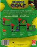 Sensible Golf Amiga Back Cover