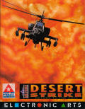 Desert Strike: Return to the Gulf Amiga Front Cover