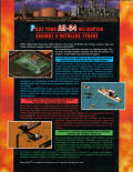 Desert Strike: Return to the Gulf Amiga Back Cover