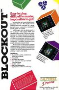 Blockout Amiga Back Cover