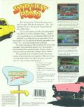 Street Rod Amiga Back Cover