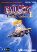 Galaxy Force II Genesis Front Cover