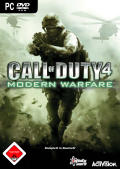 Call of Duty 4: Modern Warfare Windows Front Cover