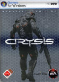 Crysis (Special Edition) Windows Front Cover The Keep Case shows through.