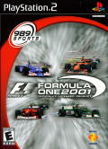 Formula One 2001 PlayStation 2 Front Cover