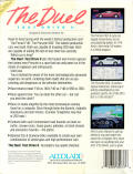 The Duel: Test Drive II Apple IIgs Back Cover
