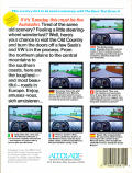 Test Drive II Scenery Disk: European Challenge Apple IIgs Back Cover