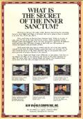 Might and Magic: Book One - Secret of the Inner Sanctum Apple II Back Cover