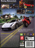 Test Drive Unlimited Windows Back Cover