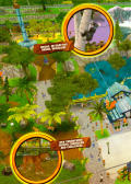 Zoo Tycoon 2: Endangered Species Windows Inside Cover Left Flap