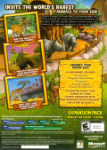 Zoo Tycoon 2: Endangered Species Windows Back Cover