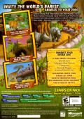 Zoo Tycoon 2: Endangered Species Windows Other Keep Case - Back