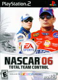 NASCAR 06: Total Team Control PlayStation 2 Front Cover