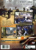 The History Channel: Civil War - A Nation Divided PlayStation 2 Back Cover