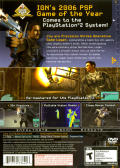 Syphon Filter: Dark Mirror PlayStation 2 Back Cover