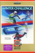 Winter Challenge: World Class Competition Atari 8-bit Front Cover