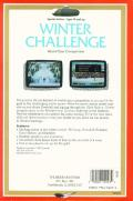 Winter Challenge: World Class Competition Atari ST Back Cover