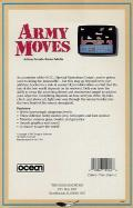 Army Moves Commodore 64 Back Cover