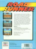 Road Runner Commodore 64 Back Cover