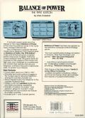Balance of Power: The 1990 Edition Atari ST Back Cover