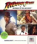 Indiana Jones in Revenge of the Ancients Apple II Front Cover