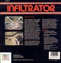 Infiltrator Apple II Back Cover