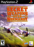 Secret Weapons Over Normandy PlayStation 2 Front Cover