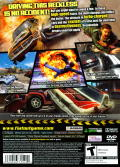 FlatOut 2 PlayStation 2 Back Cover