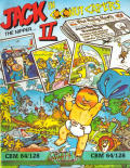 Jack the Nipper... II in Coconut Capers Commodore 64 Front Cover