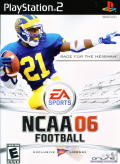 NCAA Football 06 PlayStation 2 Front Cover