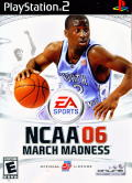 NCAA March Madness 06 PlayStation 2 Front Cover