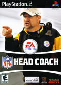 NFL Head Coach PlayStation 2 Front Cover