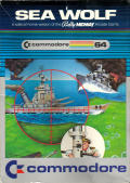 Sea Wolf Commodore 64 Front Cover