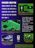 Syndicate Genesis Back Cover