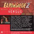 Metaltech: EarthSiege DOS Inside Cover