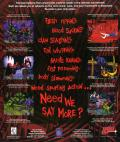 Xenophage: Alien BloodSport DOS Back Cover