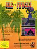 Jill of the Jungle DOS Back Cover