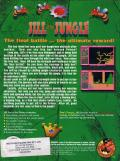Jill of the Jungle: Jill Saves the Prince DOS Back Cover