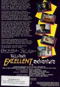 Bill & Ted's Excellent Adventure Amiga Back Cover
