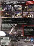 Unreal Tournament III (Collector's Edition) Windows Back Cover