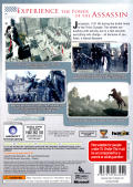 Assassin's Creed Xbox 360 Back Cover