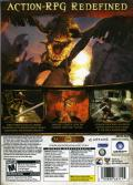 Dark Messiah: Might and Magic Windows Back Cover