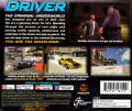 Driver PlayStation Back Cover