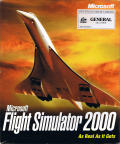 Microsoft Flight Simulator 2000 Windows Front Cover