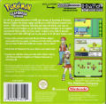 Pokémon LeafGreen Version Game Boy Advance Back Cover
