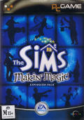 The Sims: Makin' Magic Windows Front Cover