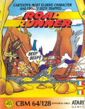 Road Runner Commodore 64 Front Cover
