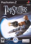 TimeSplitters: Future Perfect PlayStation 2 Front Cover