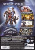 TimeSplitters: Future Perfect PlayStation 2 Back Cover